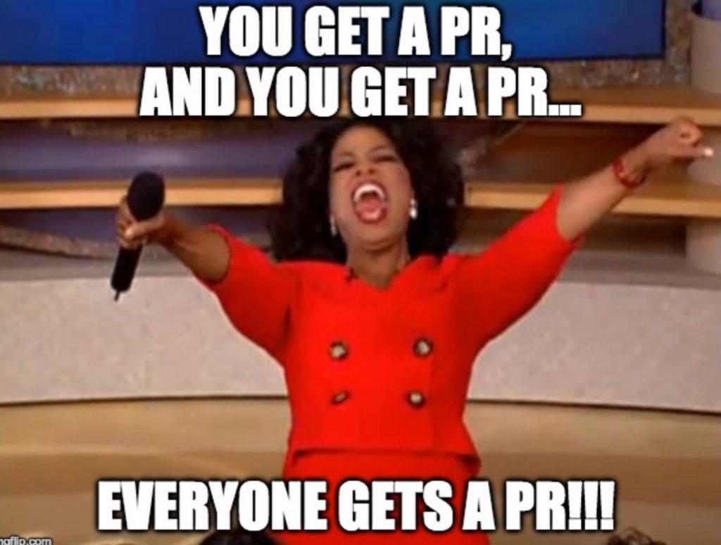 everyone get a PR meme